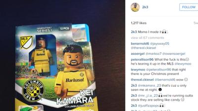 Kei Kamara Lego