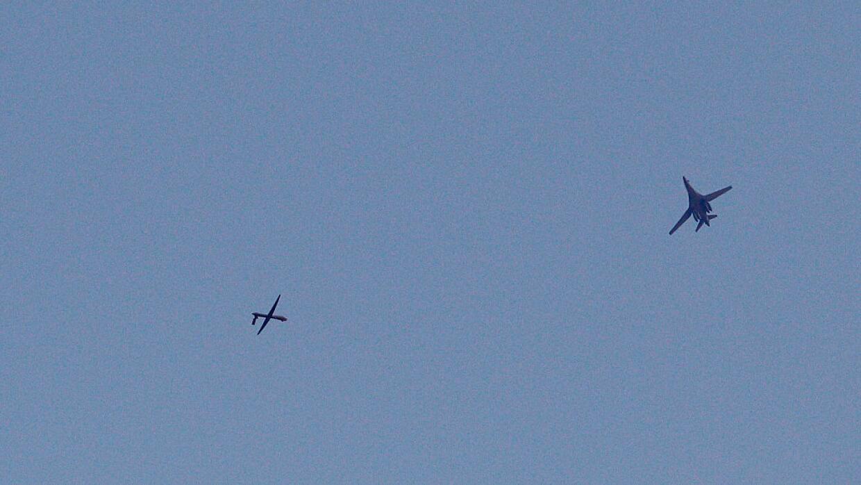 Los incidentes entre fuerzas de la coalición lideradas por EEUU  y avion...