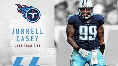 #66 Jurrell Casey (DE, Titans) | Top 100 Jugadores NFL 2018
