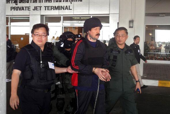 Bout está acusado de haber vendido armas a grupos armados en varios cont...