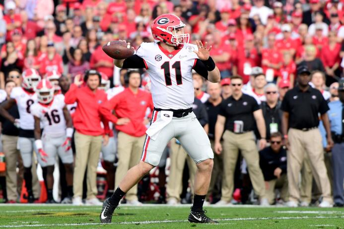 En fotos: Georgia se lleva el Rose Bowl jake-fromm.jpg