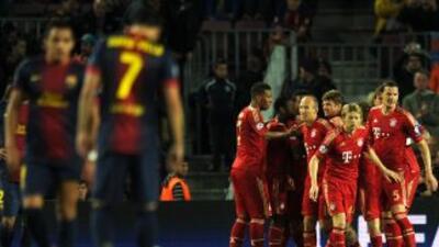 Un desvanecido Barcelona vio cómo el Bayern los goleó una vez más, ahora...