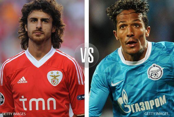 Para el tercer duelo aparece el Benfica de Portugal y el Zenit de Rusia.