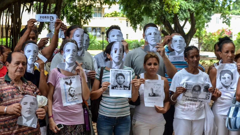 Disidentes cubanos quieren hablar con Obama