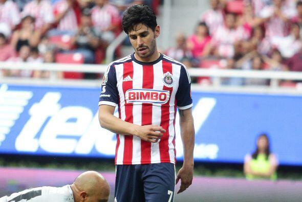 Otro jugador que llegó a Chivas ya con algunos años en primera división...