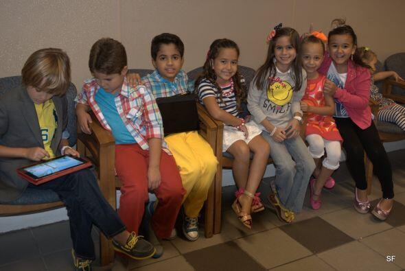 Estos niños de ahora son fans de la tecnología, ¡y h...