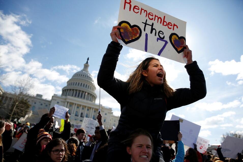 Washington DC. Los estudiantes de las escuelas del área de la cap...