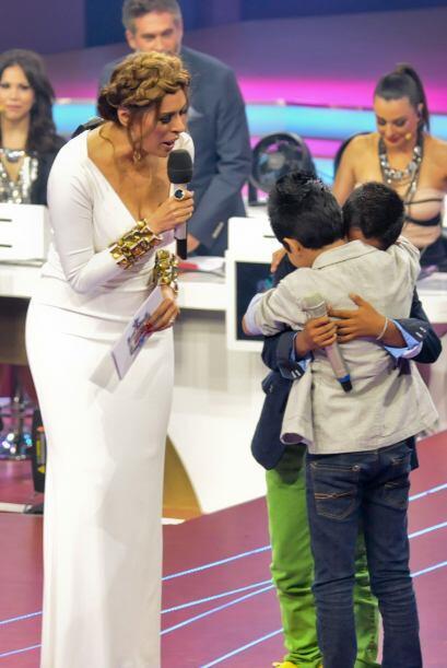 Los pequeños no pudieron evitar conmoverse hasta las lágrimas pues ya er...