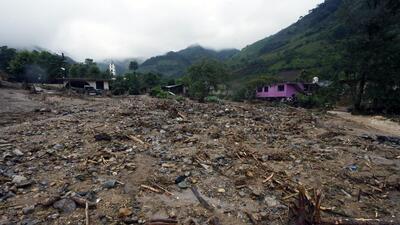 Las imágenes de la destrucción dejada por la tormenta 'Earl' a su paso por México