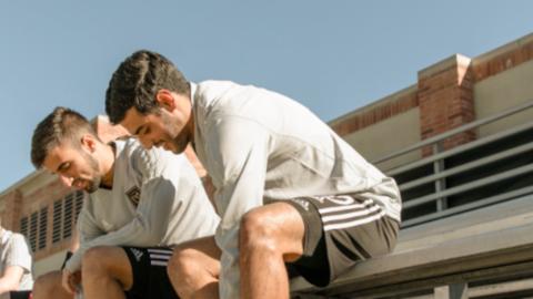 Diego Rossi y Carlos Vela compartieron el primer entrenamiento de LAFC.