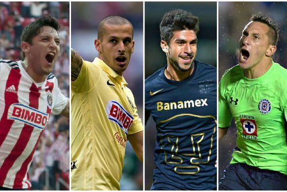 La Liga MX está lista para recibir 2 duelos que involucran a los 4 grand...