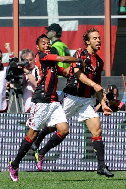 Ese tanto le valió al Milan ser el virtual campeón de la Serie A.