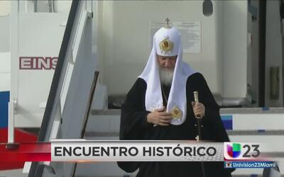 Llega a La Habana líder de la iglesia ortodoxa rusa