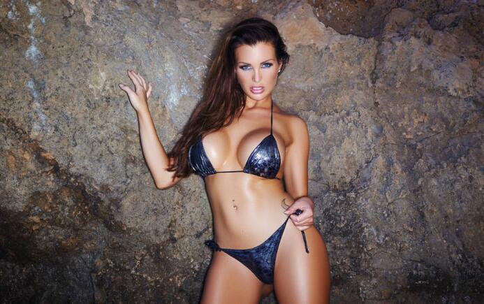 La exuberante modelo alemana es sin duda una de las fanáticas más exuber...
