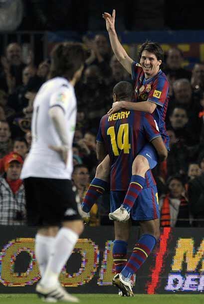 Barcelona ganó 3-0, con tres tantos del argentino, y esperaba que el Rea...