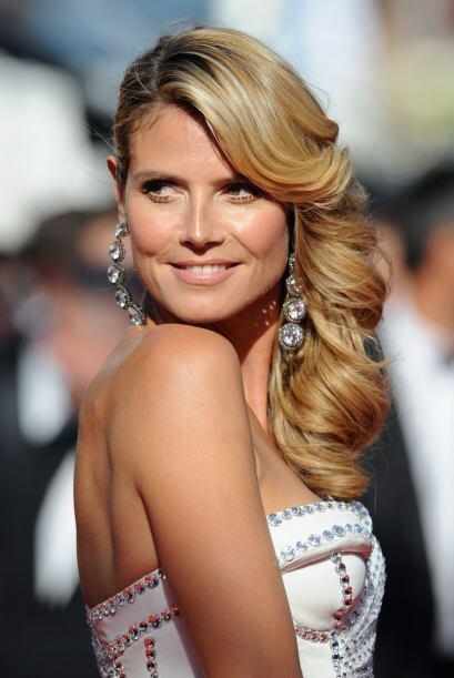 Heidi Klum en Cannes.  Mira aquí lo último en chismes.