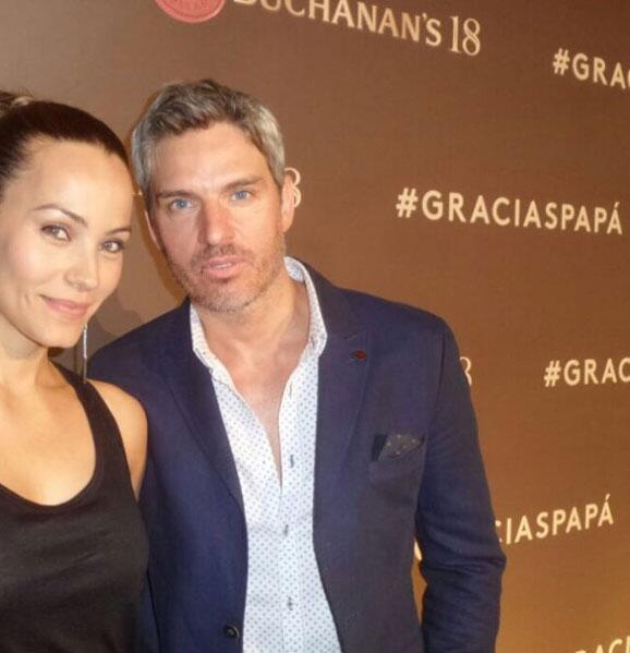 Ramiro Fumazoni y Jessica Mass