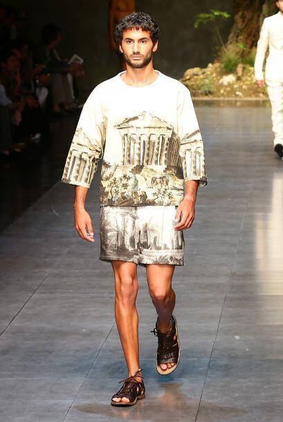 Las prendas con imágenes históricas harán del estilo de los caballeros t...