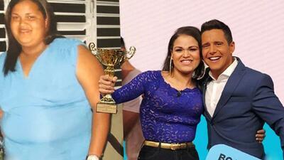 Alejandro Chabán fue testigo de la transformación de esta mujer que lloró en sus brazos tras perder 140 libras