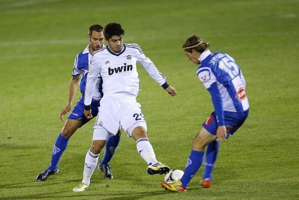 El Madrid se veía mucho mejor que el cuadro de casa.