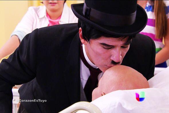 Nos quedamos sin palabras Bruno, eres el mayordomo con el corazón más no...