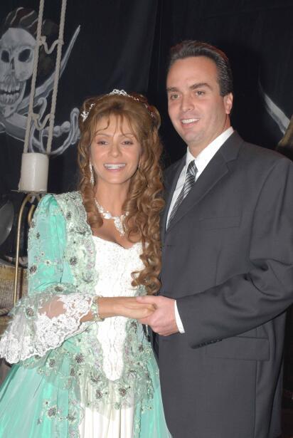 Daniela Castro y Gustavo Díaz Ordaz