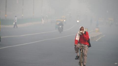 Los niveles de contaminación llegaron a 969 partículas por...