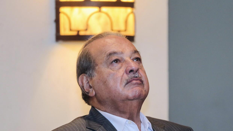 El magnate mexicano Carlos Slim