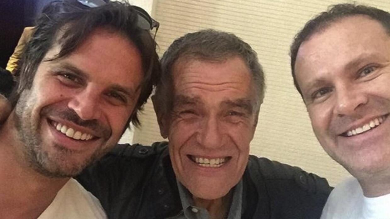Alejandro Tacher tuvo tres hijos varones, Alan, Mark y Erick.