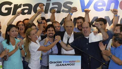 Contundente triunfo de la oposición Venezolana