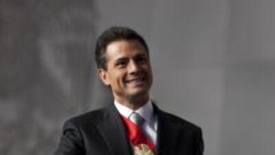 Enrque Peña Nieto, presidente de México.