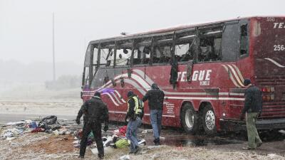 Al menos ocho muertes ha causado la fuerte tormenta invernal del sur al noreste del país