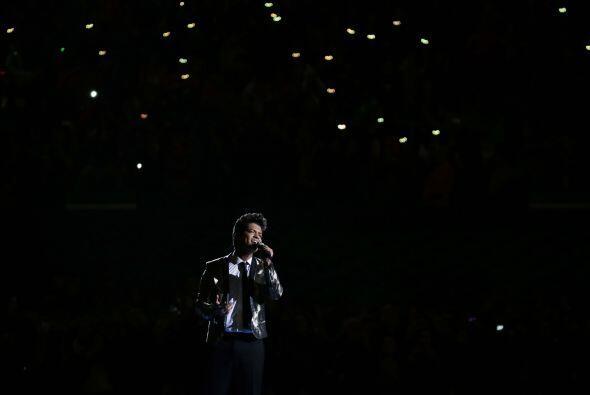 """""""Just The Way you Are"""", la canción con la que terminó Bruno Mars su espe..."""