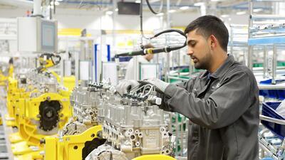 Centro de ensamblaje de motortes de Jaguar Land Rover