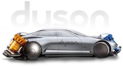 Imagen alegórica del proyecto de auto eléctrico de Dyson