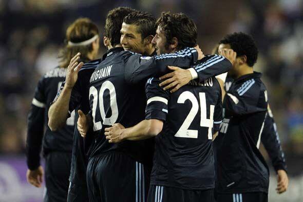 El marcador final fue 4-1 y Real Madrid mantuvo el liderato de la Liga e...
