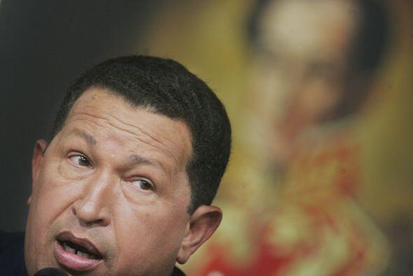 Hugo Rafael Chávez Frías... Hay rumores que la maldici&oac...