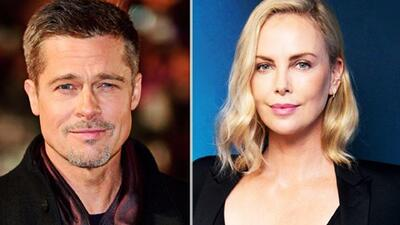 Brad Pitt y Charlize Theron podrían estar de romance (y no te imaginas quién los presentó)