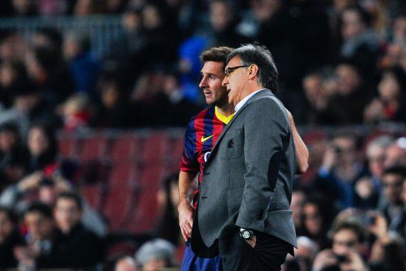 El técnico Gerardo 'Tata' Martino llamaba a Messi pues decidió que era e...