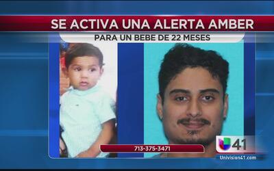 Alerta Amber para localizar a menor de 22 meses