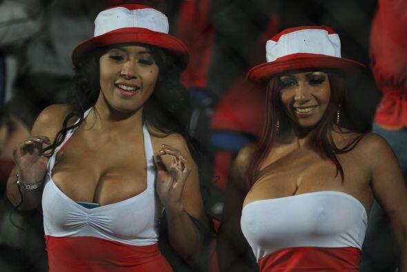 Pero sin dudas las ganadoras fueron las hinchas peruanas que desafiaron...
