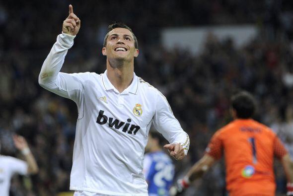 Real Madrid ganaba 5 a 1 y CR7 sumó 101 goles con la camiseta blanca.