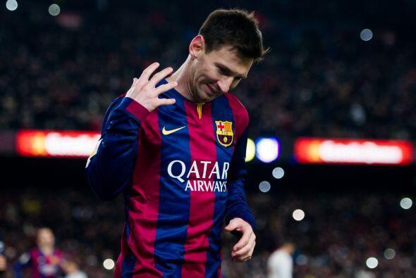 Messi solo tuvo que empujar la pelota a la red para marcar el único gol...