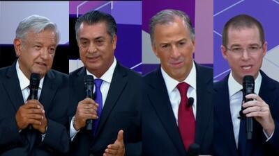 Así te contamos minuto a minuto el segundo debate presidencial México 2018