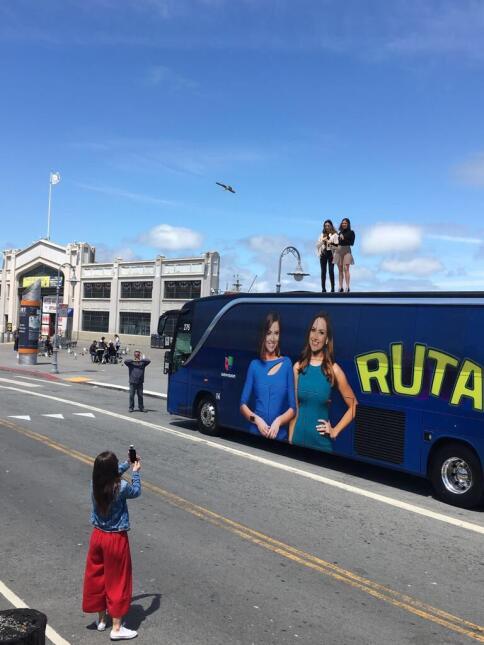 En imágenes, todo lo bueno de la gente de San Francisco en la Ruta de Im...