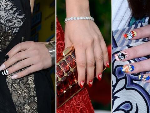Los diseños en sus uñas son tan coquetos y creativos, que...