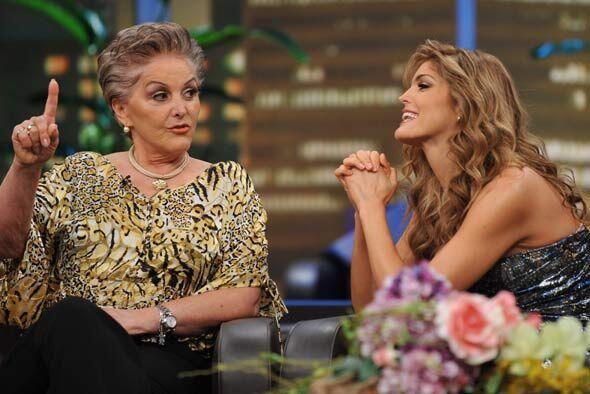 La cantante siente gran admiración por su madre.