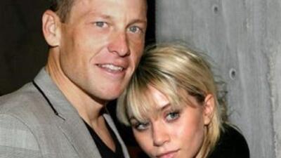 Lance Armstrong y Ashley Olsen tuvieron una relación. (Foto: Twitter)