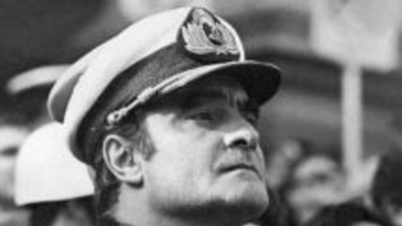 El ex dictador Emilio Massera.