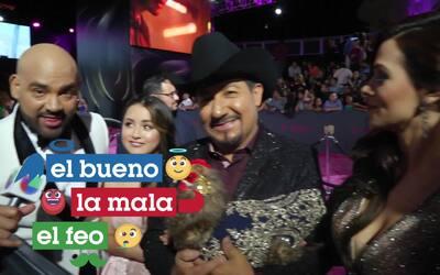 Rubí fue apadrinada por El Bueno, La Mala y El Feo en Premio Lo Nuestro